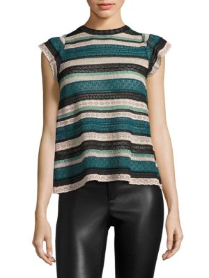 Multi-Lace Top by M Missoni