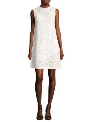 Macrame Shift Dress