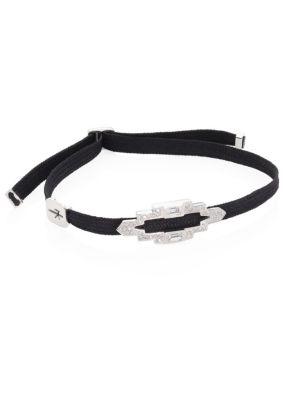 NIKOS KOULIS Yesterday Diamond Cord Bracelet