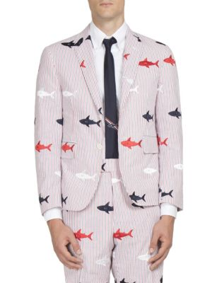 Shark Embroidered Jacket