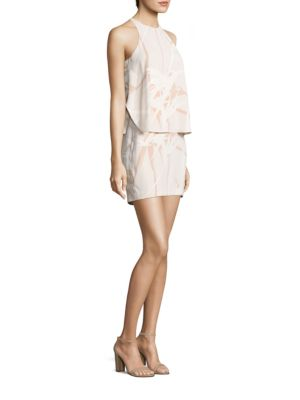 Printed Popover Dress