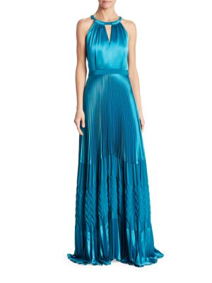 Olympia Halter Gown