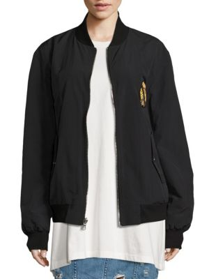 Beve Reversible Bomber Jacket