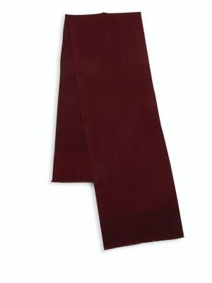 Printed Cashmere Rectangular Scarf