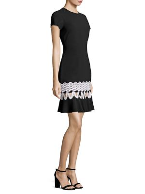 Lombard Knit Cutout Dress