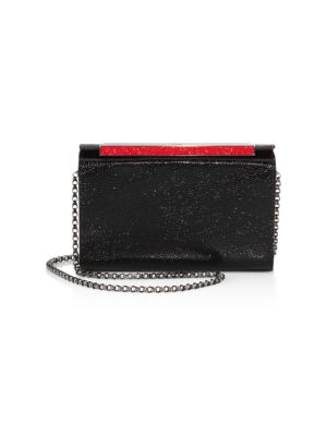 Vanite Small Leather Convertible Clutch