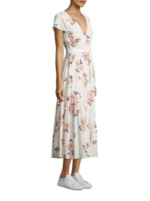Rochie lungă FREE PEOPLE Floral
