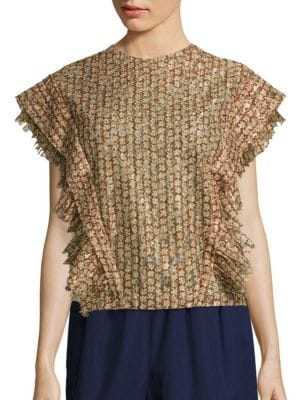 Esther Patterned Blouse