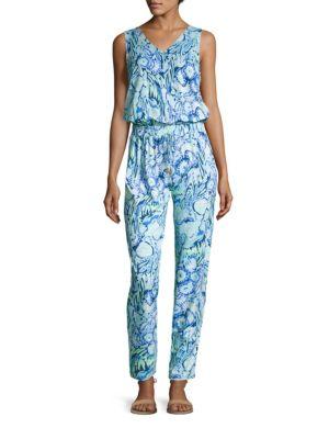 Paulina Printed Jumpsuit