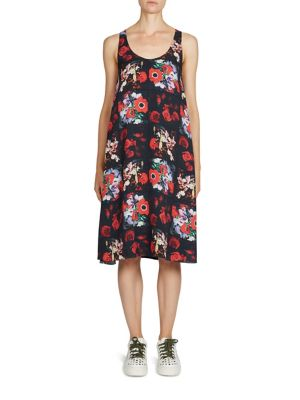 Buy KENZO Antonio's Floral-Print Silk Dress online with Australia wide shipping