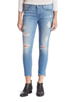 Jeanși de damă 7 FOR ALL MANKIND Distressed