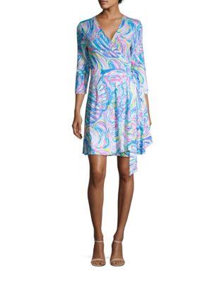 Emilia Wrap Dress