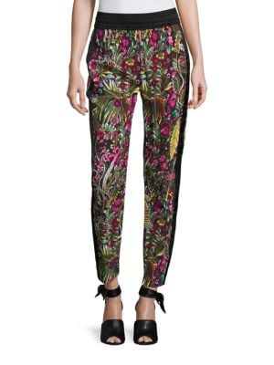 Wild Things Floral-Print Pants