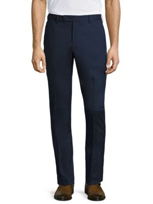 Slim Fit Stretch Cotton Pants