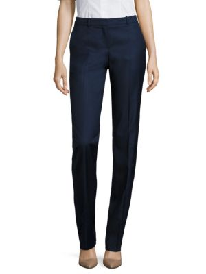 Tamea7 Wool Blend Trousers by BOSS