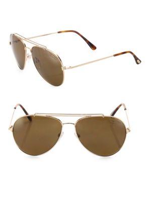 36a6bb4d99 UPC 664689828456 Tom Ford Eyewear Indiana 58MM Polarized Aviator ...