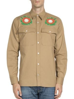 Lennon Floral Embroidered Shirt
