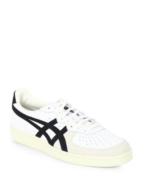 ONITSUKA Game Set Match Leather & Suede Sneakers
