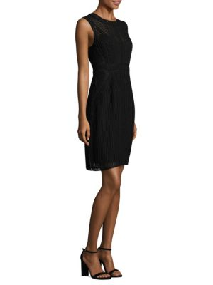Jaydyn Crochet Sheath Dress