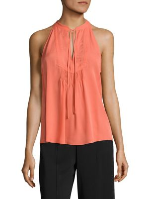 Levi Sleeveless Silk Top