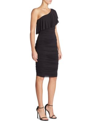 Barbados One Shoulder Ruched Dress