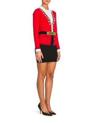 Knit Belted Cardigan Minidress