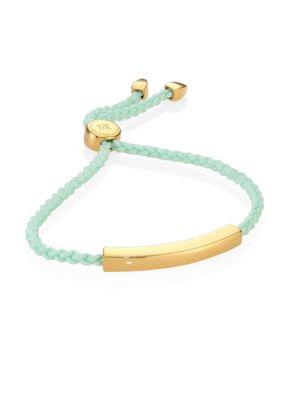 Linear Friendship Bracelet/Mint