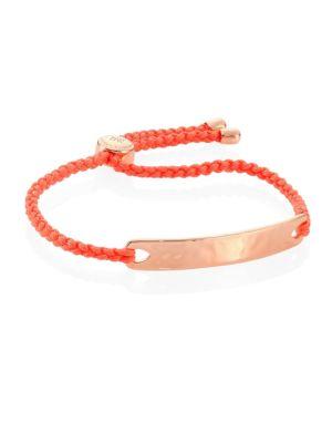 Havana Friendship Bracelet/Peach