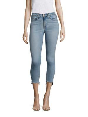 Capri Step Hem Skinny Jeans/Wiley