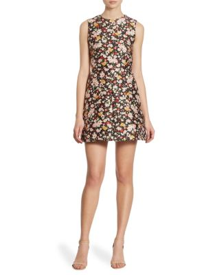 Bambolina Floral Jacquard Dress