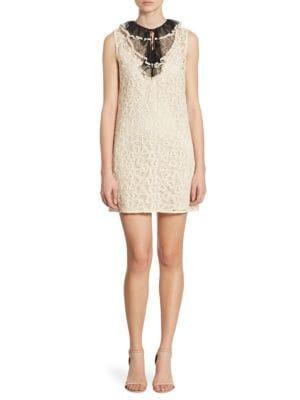 Heart Macramé Lace Dress