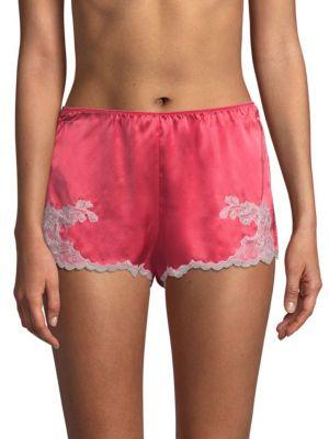 Lolita Silk Sleepwear Shorts, Pink