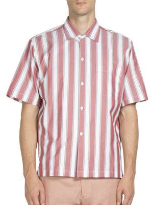 Short Sleeve Striped Shirt