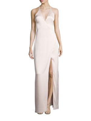 Surplice Neck Slip Gown