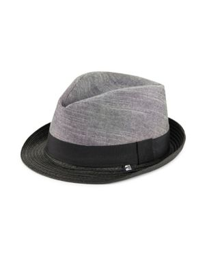 Chambray Twill Trilby