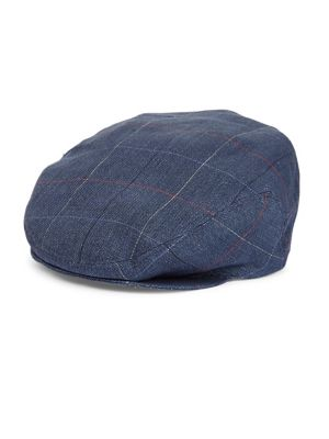 BARBISIO Plaid Flat Cap