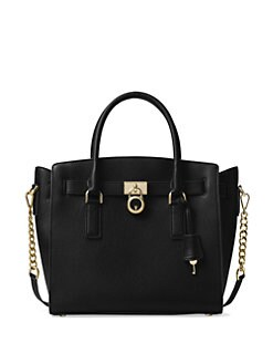 MICHAEL MICHAEL KORS - Hamilton Large Leather Satchel