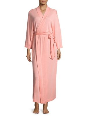 Self-Belt Knit Robe