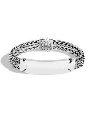 Classic Silver ID Bracelet