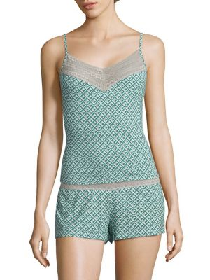 Lori Diamond-Printed Camisole