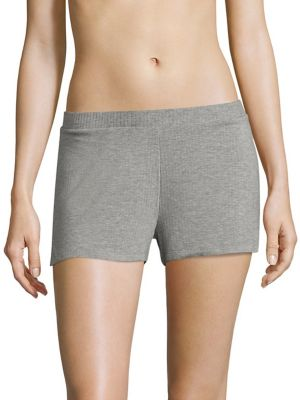 COLLECTION Maddie Heathered Jersey Boxers