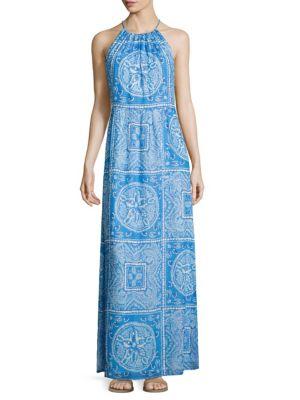 Sanddollar Printed Dress