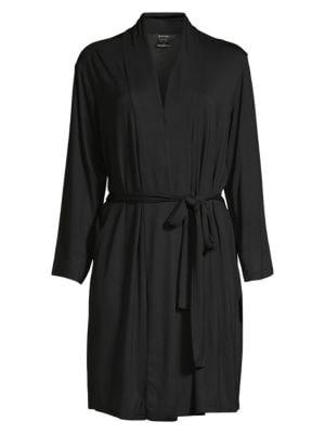 Long-Sleeve Wrap Robe