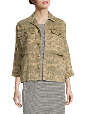 The Militia Camo Army Jacket