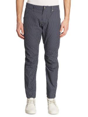 Dot-Striped Pants