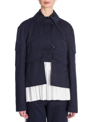 Long-Sleeve Cotton Jacket