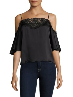 Coquette Silk Cami Top by Nanette Lepore