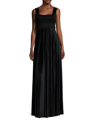 Alain Pleated Gown