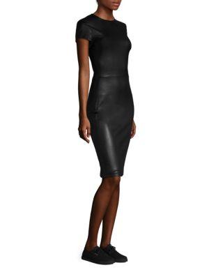 Bocilla Leather Dress
