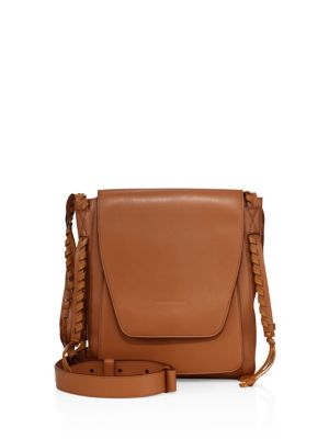 Juno Leather Messenger Bag